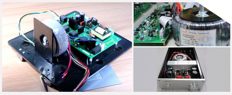 电器批量定制了一批环形变压器