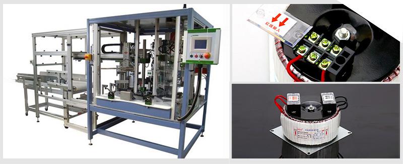 关于在工业自动控制电路中应用的控制变压器型号有多种,工业自动控制电路中上用得最多的一种小型交流变压器——BK-50控制变压器,这型号的变压器参数也是大多自动控制电路中常设计的电压参数,因此使用广。   在工业自动控制电路中控制变压器扮演着电源变压器的角色,拥有多组输出电压,给各电路供电。机床的安全照明灯和可移动式行灯电路使用电压是36伏,控制电路中的低压指示灯配电电压为6.