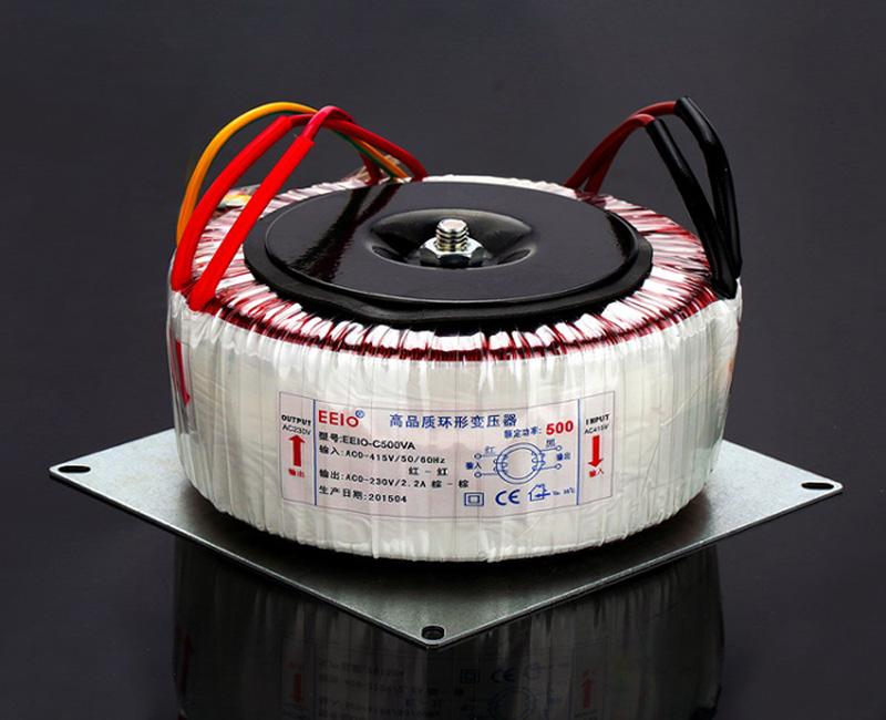 环形变压器负载功率因数与额定功率的关系是怎么样的?