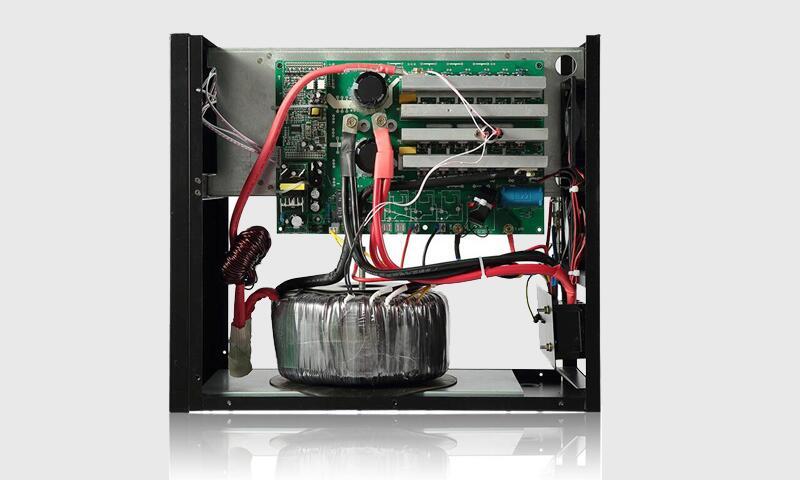 60度不绕满)2,变压器的输入端串一个磁环,推挽式逆变对漏感没有要求.