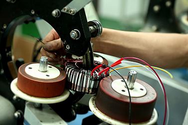 圣元小功率电源变压器绕制中