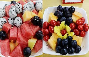 圣元电器水果餐
