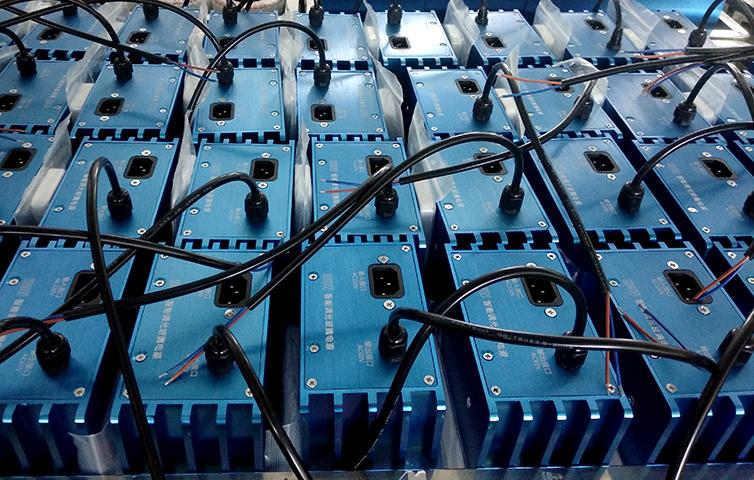 圣元调光玻璃变压器准备测试