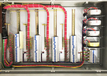 呼和浩特地铁项目的配电箱安装使用圣元环形变压器