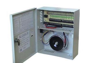 安防监控配电箱内安装使用环形电源