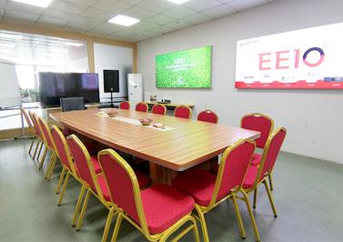 圣元电器舒适整洁的会议室