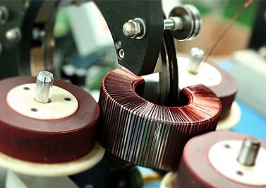 绕线机绕环形变压器初级