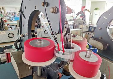 环形变压器聚脂薄膜绕制机