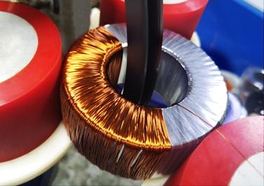 圣元电器-环形变压器次级铜线绕制