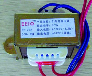 EI方形变压器EEIO-EI10W-220V/12V
