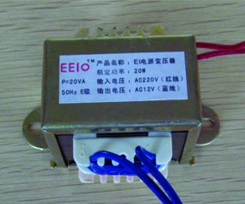 EI方形变压器EEIO-EI20W-220V/12V