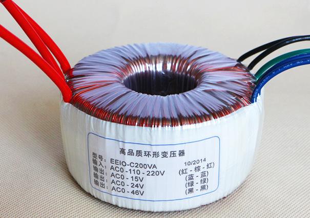 电源变压器EEIO-DY200-0-110V-220V/15V+24V+46V