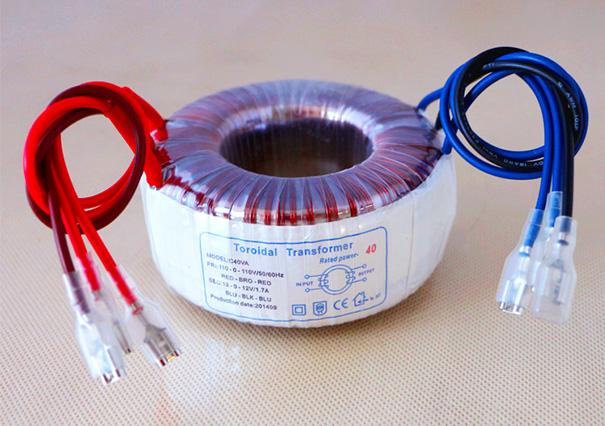 音频变压器EEIO-YP40W-110V-0V-110V/12V-0V-12V