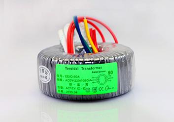 电源变压器EEIO-DY50W-0V-220V-380V/0-12V