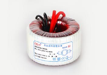环形变压器80W,230V转24V【带自恢复温控保护】
