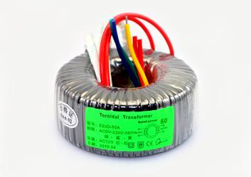 环形变压器50W,12V变压器【机械设备专用】