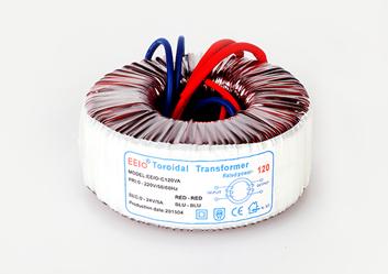 环形变压器120W,220V转24V【安防监控专用】