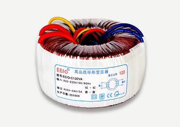 环形变压器120W,220V转24V【输出带短路保护】