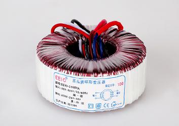 电源变压器100W,220V转24V【地铁控制设备专用】