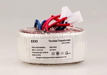 环形变压器40W,可量身定制电压【带恢复温控保护】
