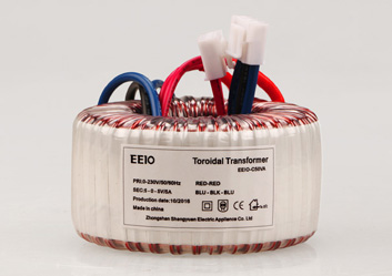 环形变压器50W,双输出电压可定制【带短路保护】