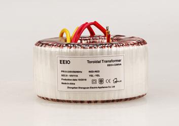 环形变压器200W,220V转18V【输出带短路保护】