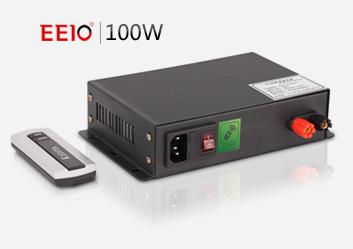 100W轻薄桌面电源,遥控开关,可定制【雾化玻璃电源】